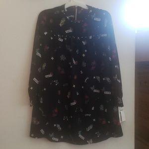 Zara Basic z1975 long sleeved dress